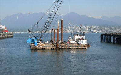 New Industrial Wharf & Shiploader