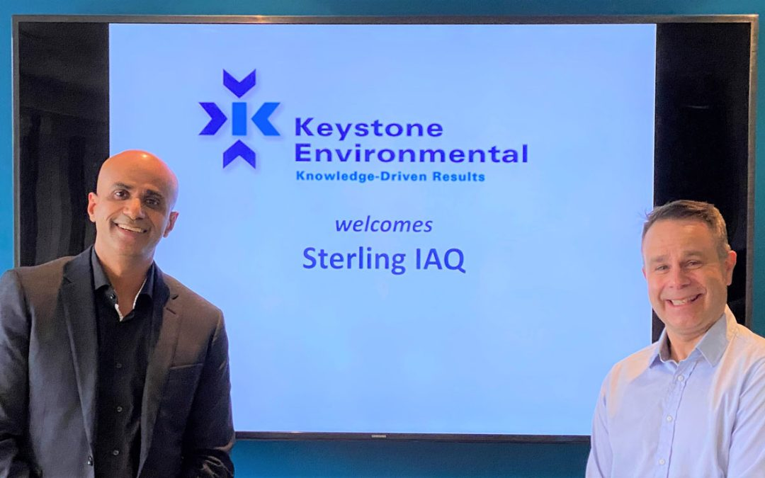 Keystone Environmental enters into Partnership with Indoor Air Quality Specialists, Sterling IAQ